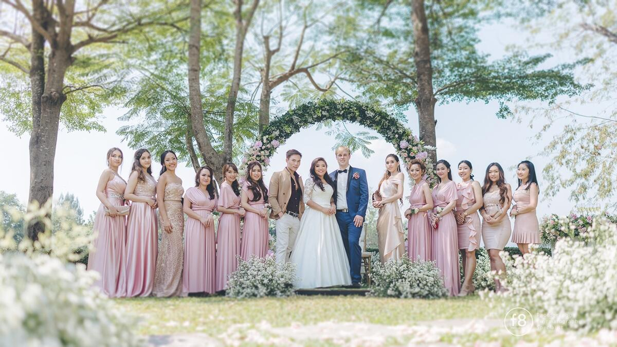 U Inchantree Kanchanaburi Romantic Wedding