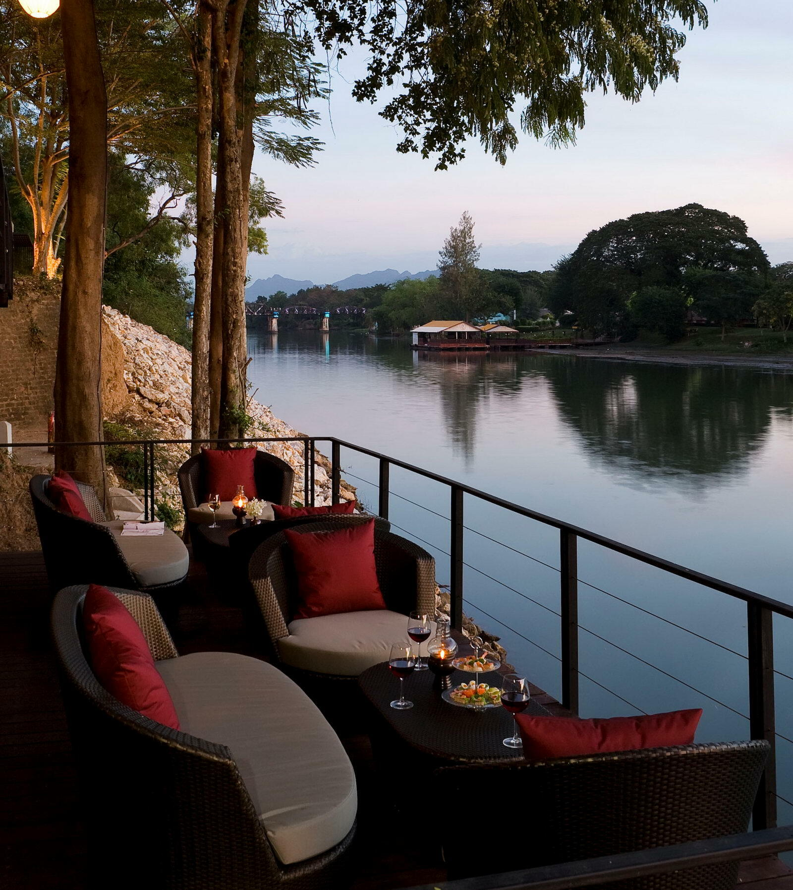 The Terrace Lounge at U Inchantree Kanchanaburi