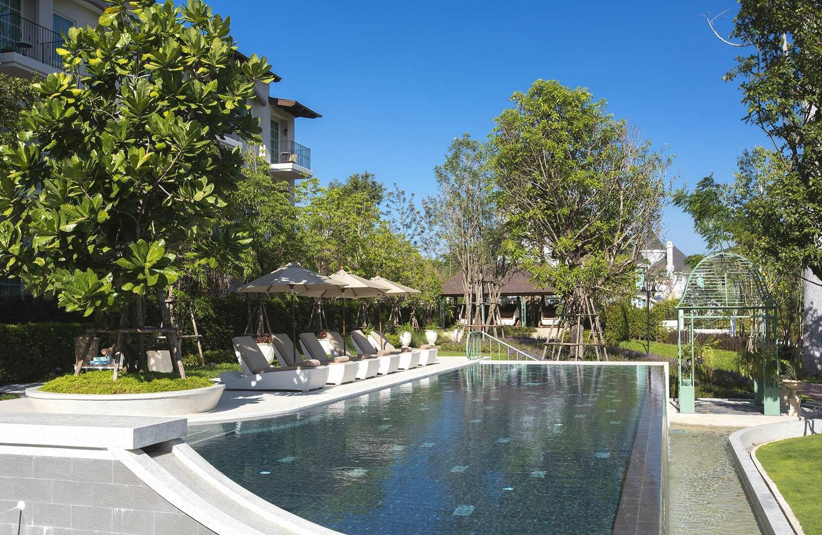 U Khao Yai Outdoor Swimming Pool