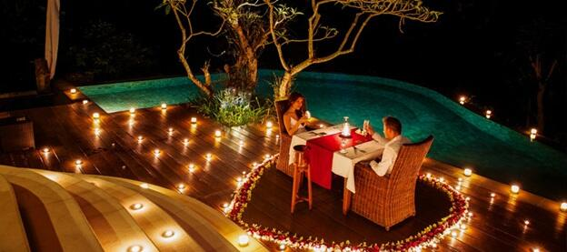 Once In A Blue Moon dinner at U Tropicana Alibaug