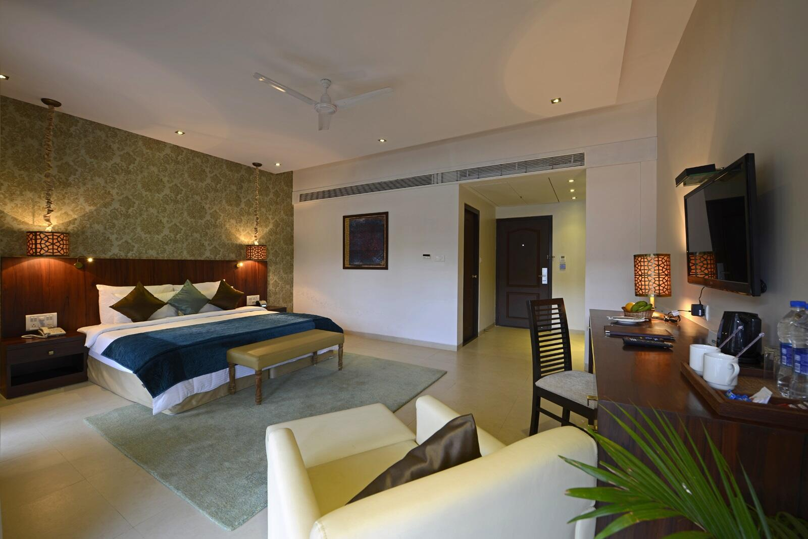 U Tropicana Alibaug Deluxe Bedroom