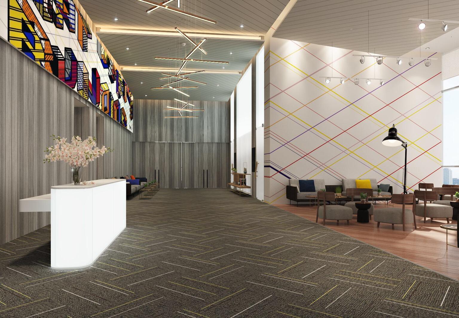 Upscale design hotel with underground link from B1 of Samyan Mit