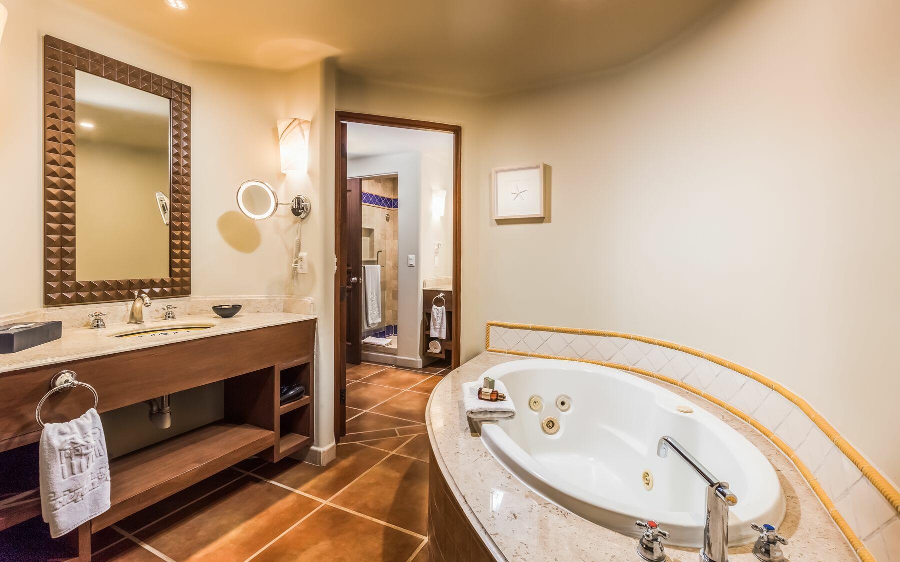 Jacuzzi & Bathroom