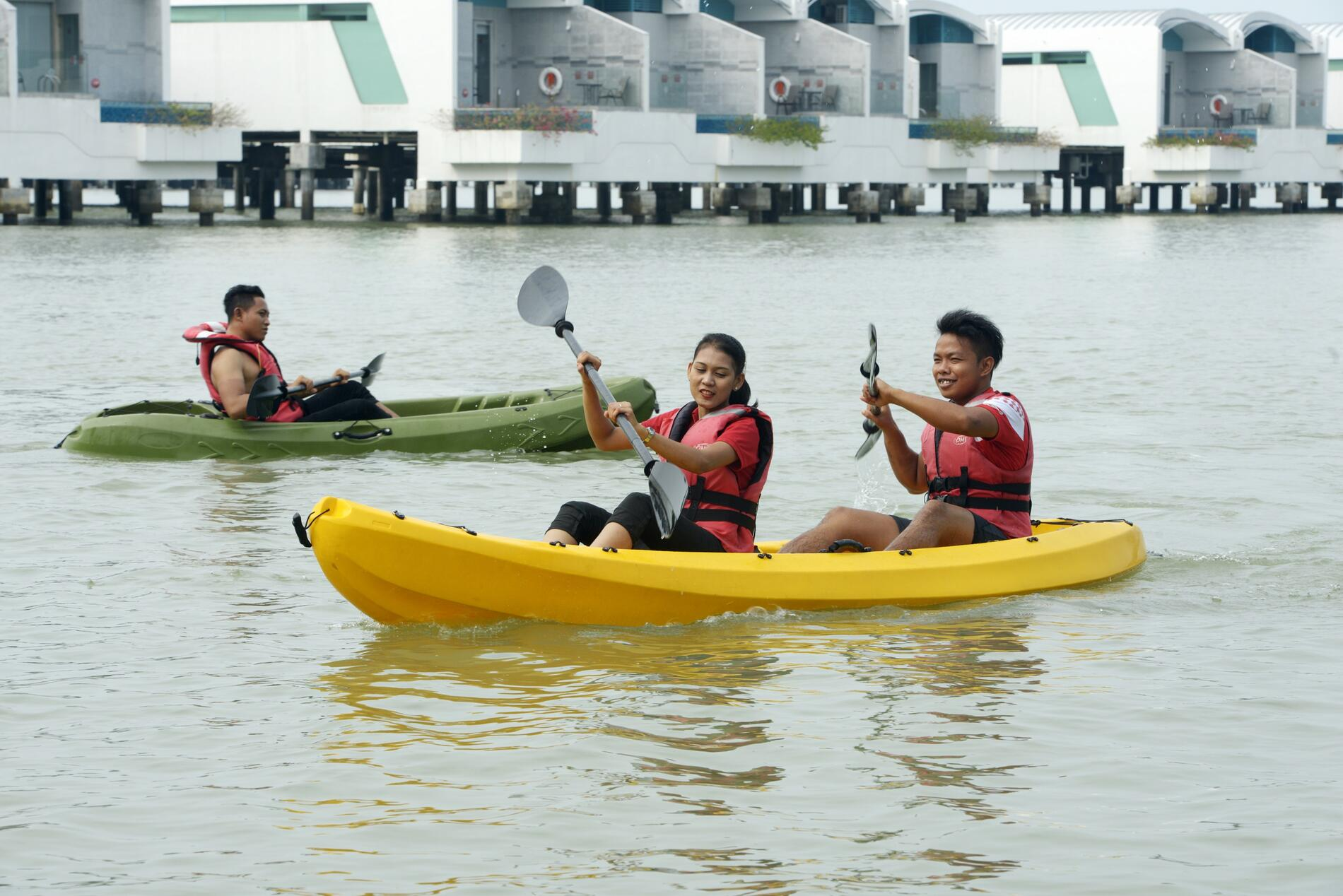 Beach Kayak   Outdoor Facilities   Lexis Hibiscus Port Dickson