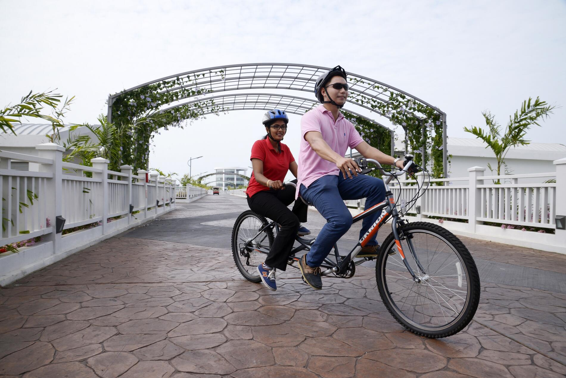 Tandem Bicycle Ride | Lexis Hibiscus Port Dickson