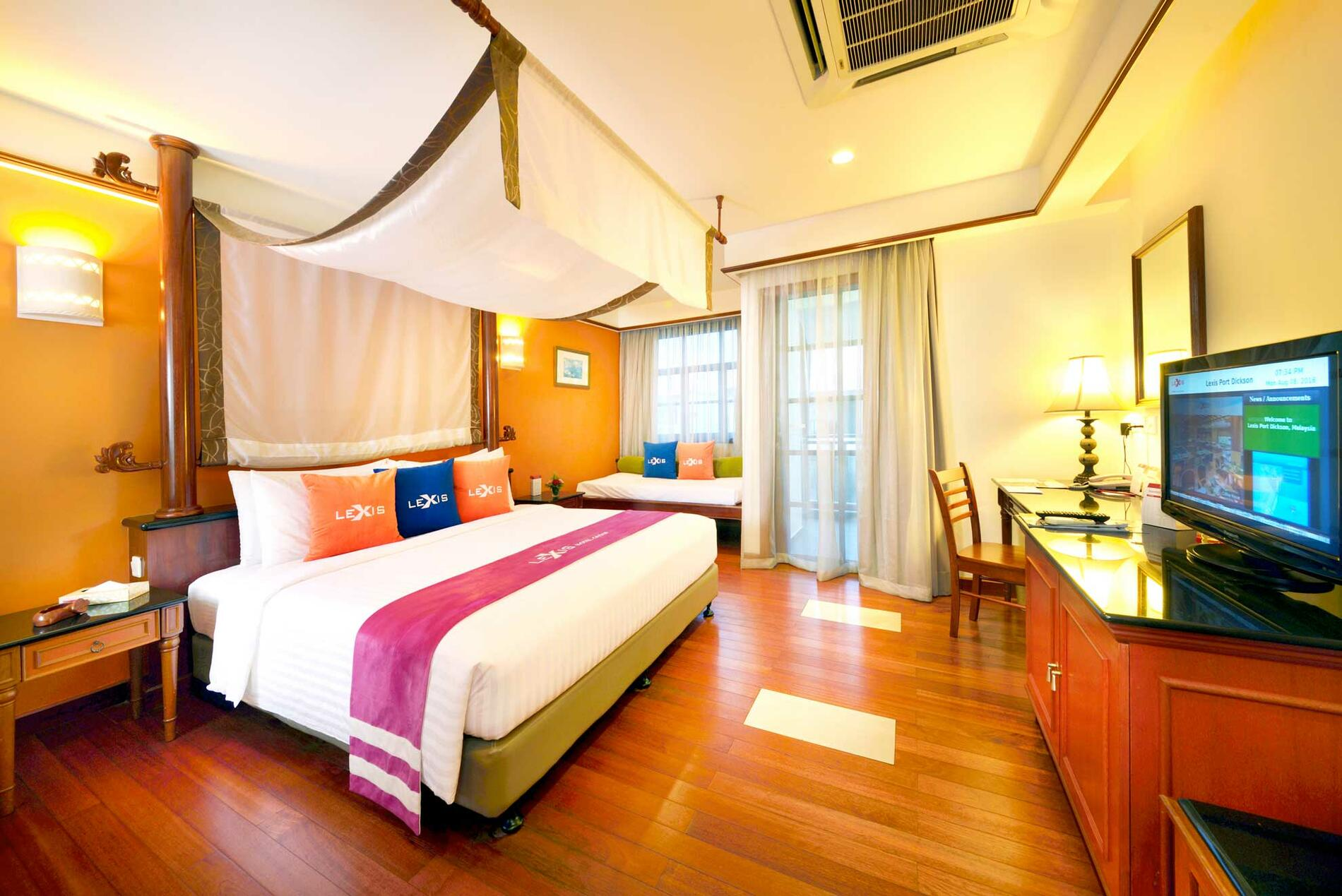 Executive Water Chalet | Sea Front Hotel Port Dickson