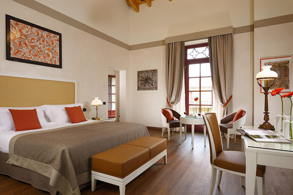 Accommodation at Castello dal Pozzo in Oleggio Castello, Italy
