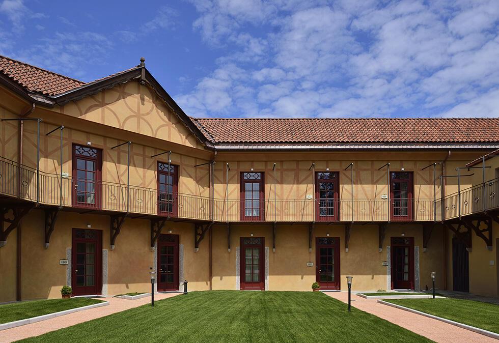 Castello dal Pozzo in Oleggio Castello, Italy
