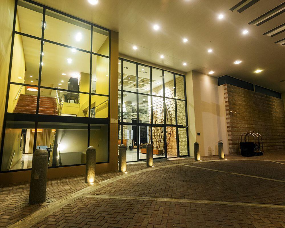 Entrance of Hotel Lobby