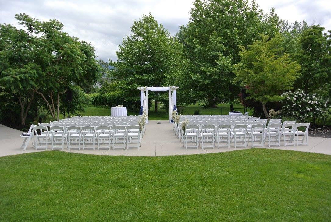 gardens setup ceremony