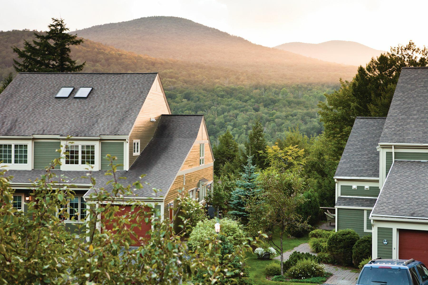 Cottage in the Vermont mountains.