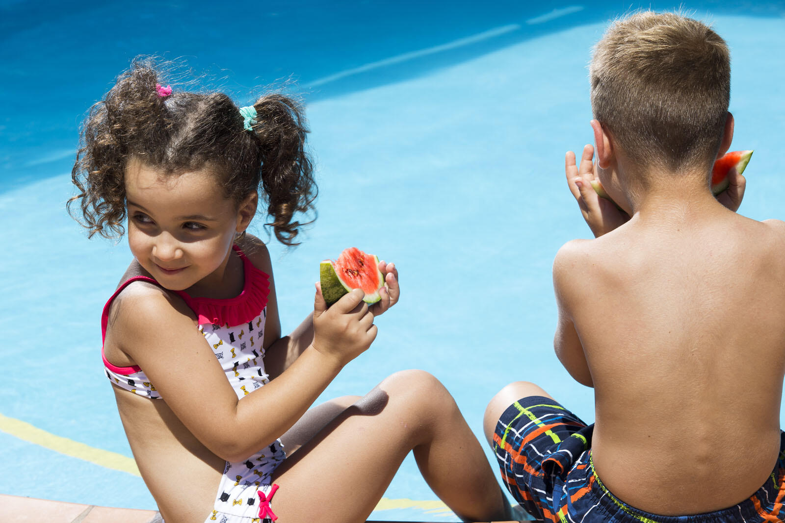 Kids fun at Agapi Beach Resort in Crete