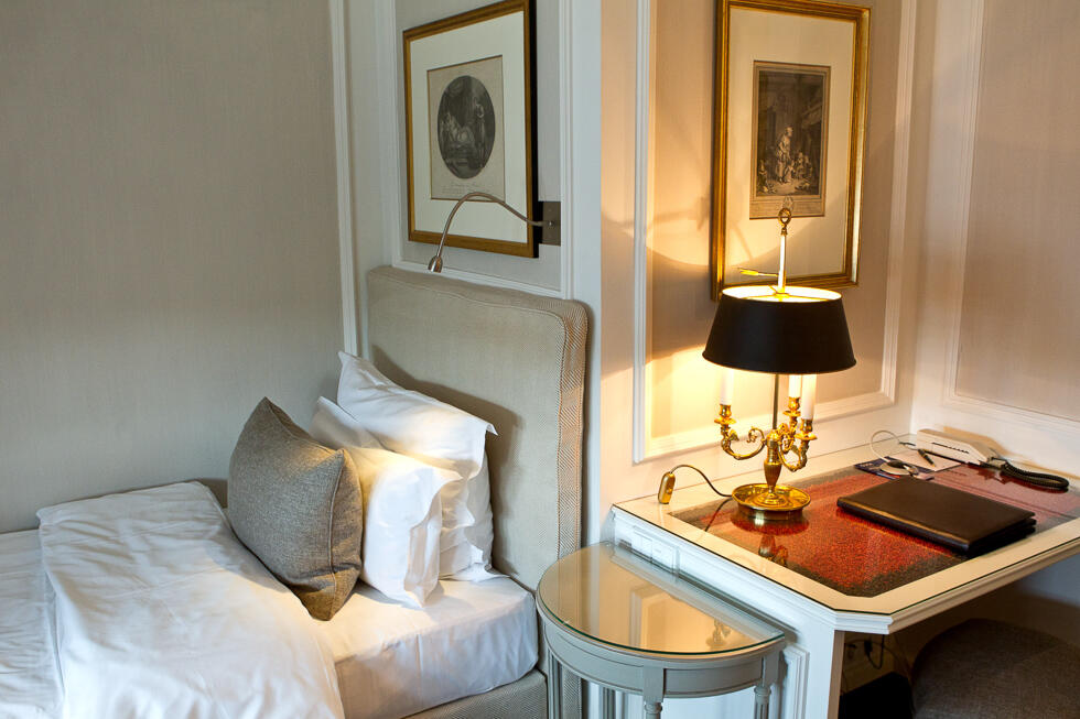 Single room at Hotel München Palace
