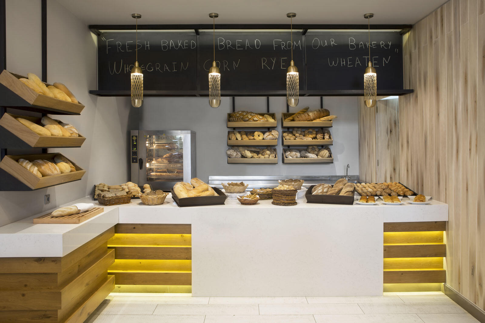 Main Restaurant Bakery at Agapi Beach Resort in Crete