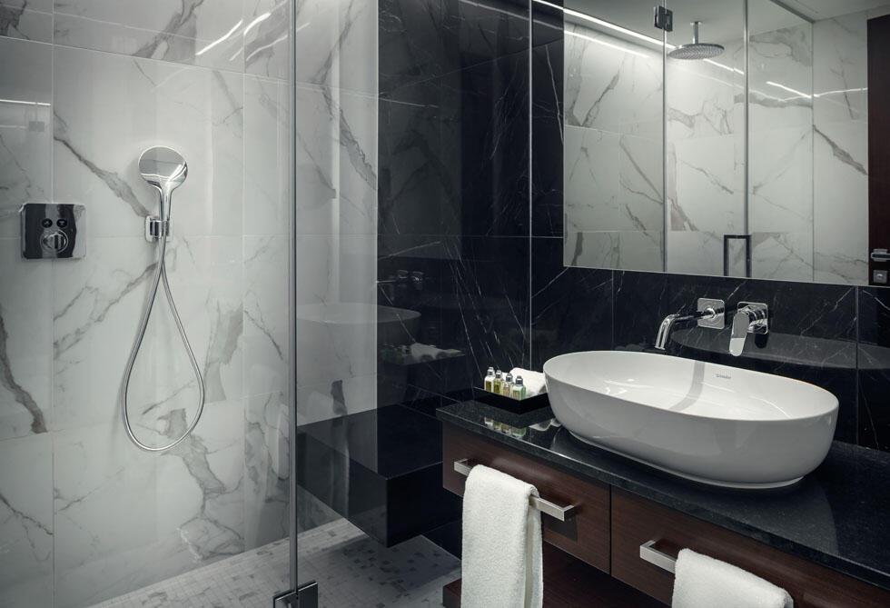 Bathroom at Hotel KINGS COURT in Prague