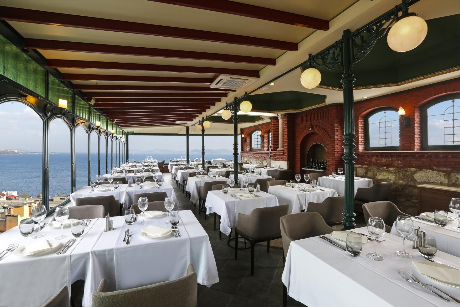 Restaurant at Sultanahmet Palace Hotel in Istanbul