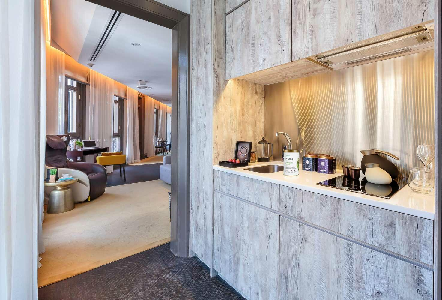 Kitchenette in Wellbeing Suite - Ann Siang House