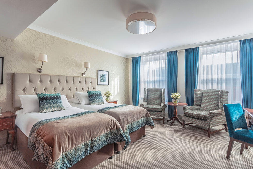 Bedroom at The Grand Brighton in East Sussex, United Kingdom