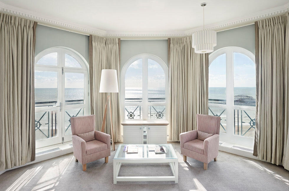 Deluxe Seaview Room at The Grand Brighton in East Sussex, United