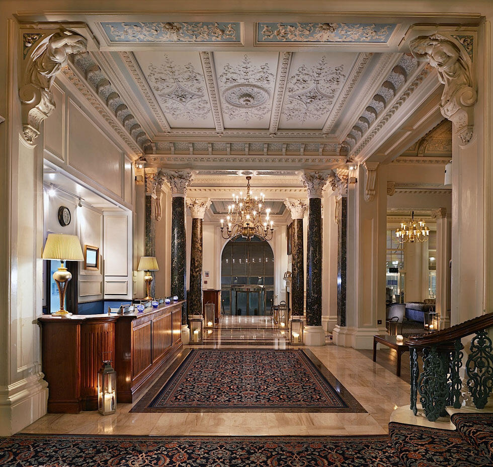 Lobby at The Grand Brighton in East Sussex, United Kingdom