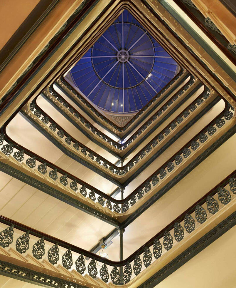 Staircase at The Grand Brighton in East Sussex, United Kingdom