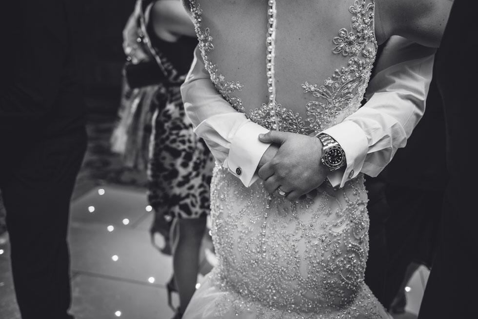 Wedding detail at The Grand Brighton in East Sussex, United King