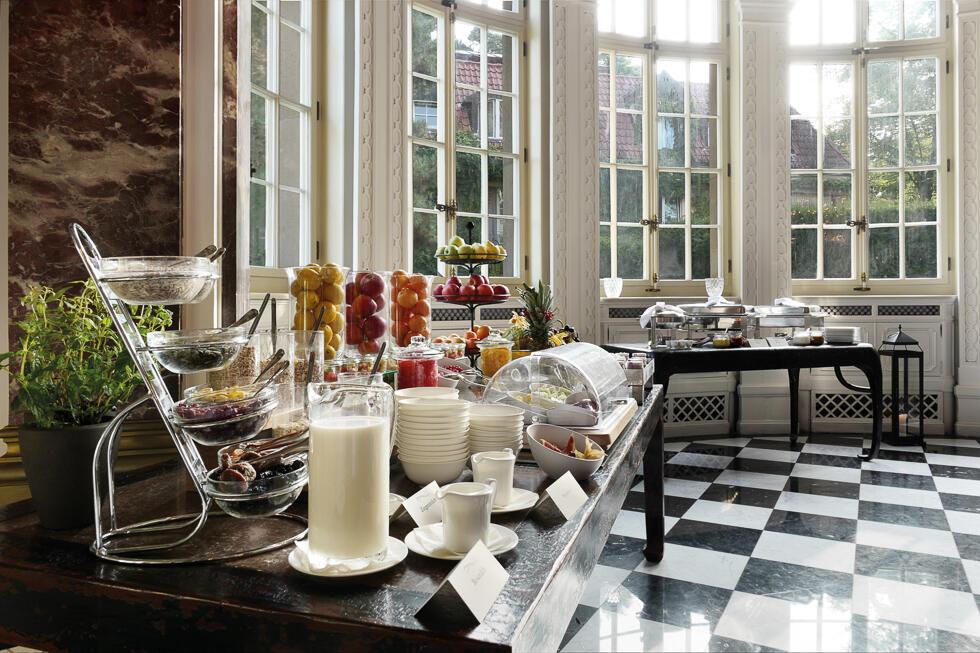 Breakfast at Patrick Hellman Schlosshotel