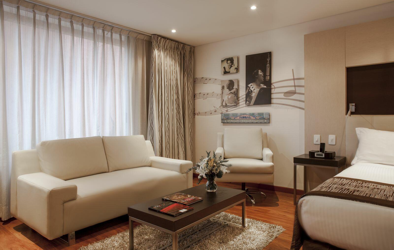 Living Room in Junior Suite