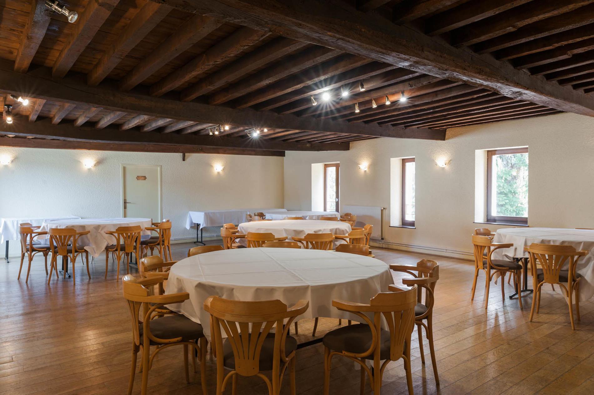 salle de séminaire à l'hôtel Clos St Elois, The Originals Relais