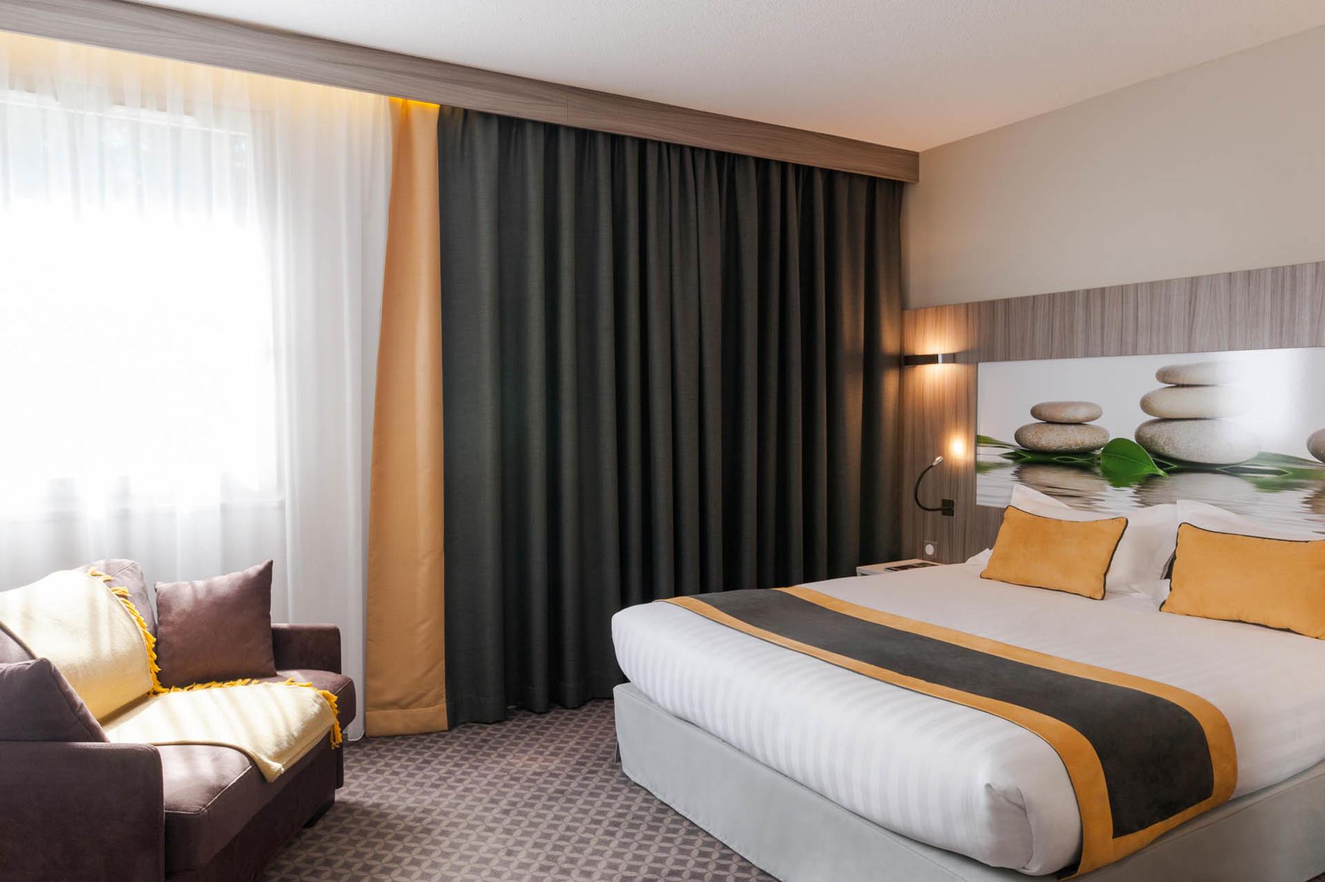 juniot suite de 1 à 3 personnes à l'hôtel Clos St Elois, The Ori