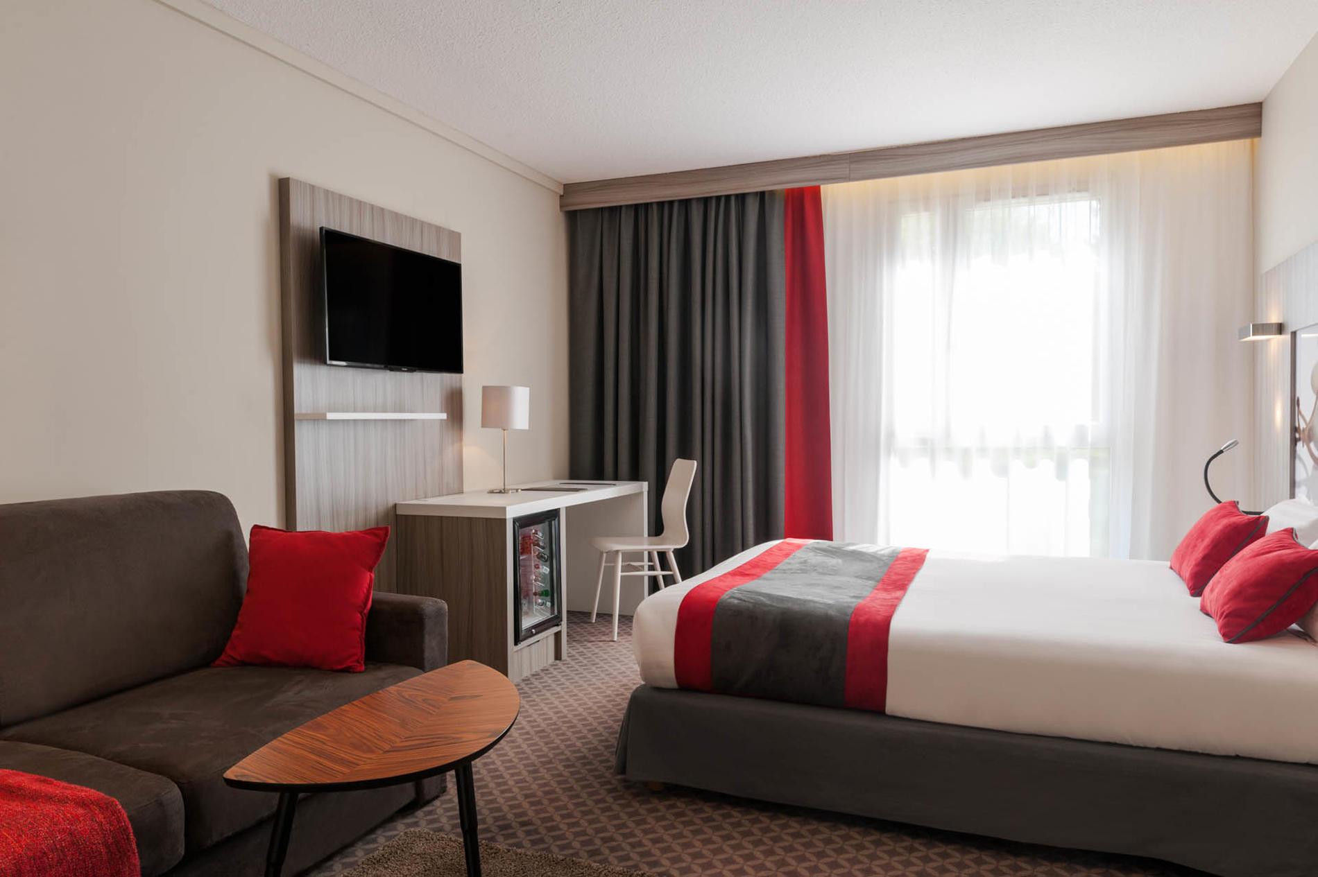 chambre familiales de 1 à 3 personnes à l'hôtel Clos St Elois, T