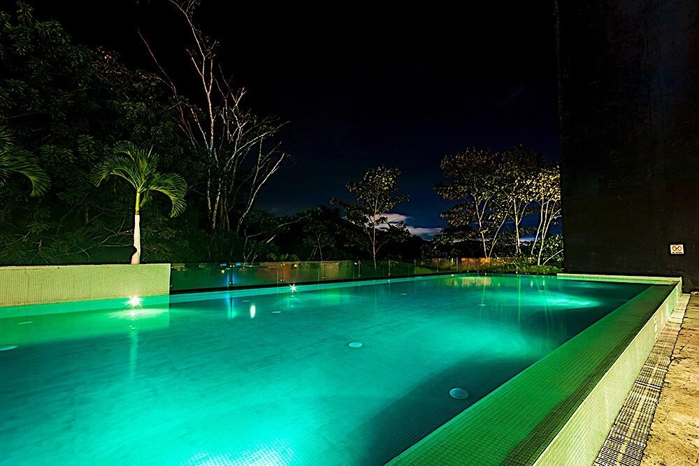 Infinity Pool Night.