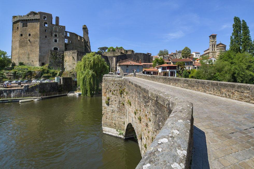 Le village de Clisson près de Nantes