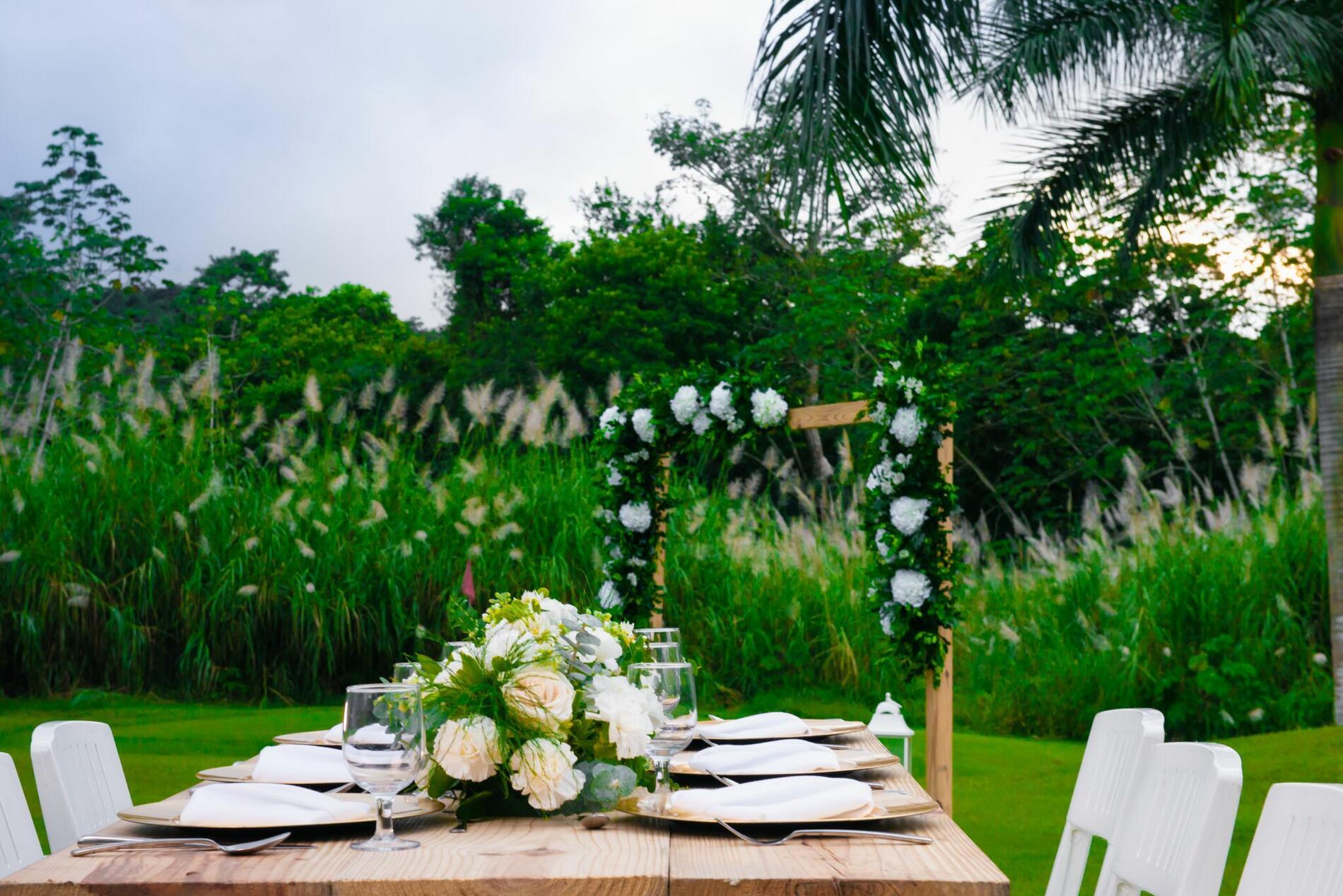 Outdoor Venue for Weddings