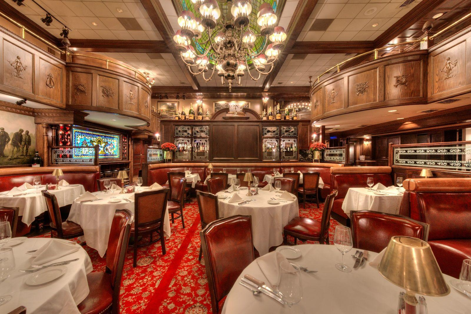 Spacious seating at Rod's Steakhouse