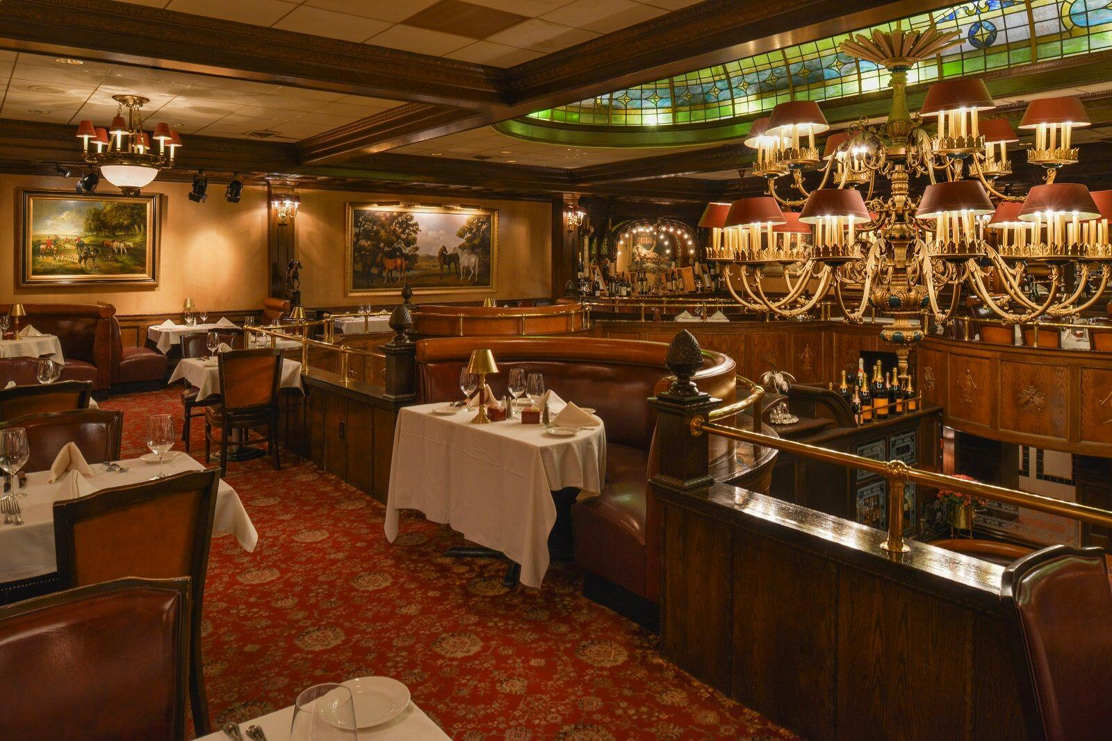Elegant Victorian dining at Rod's Steakhouse