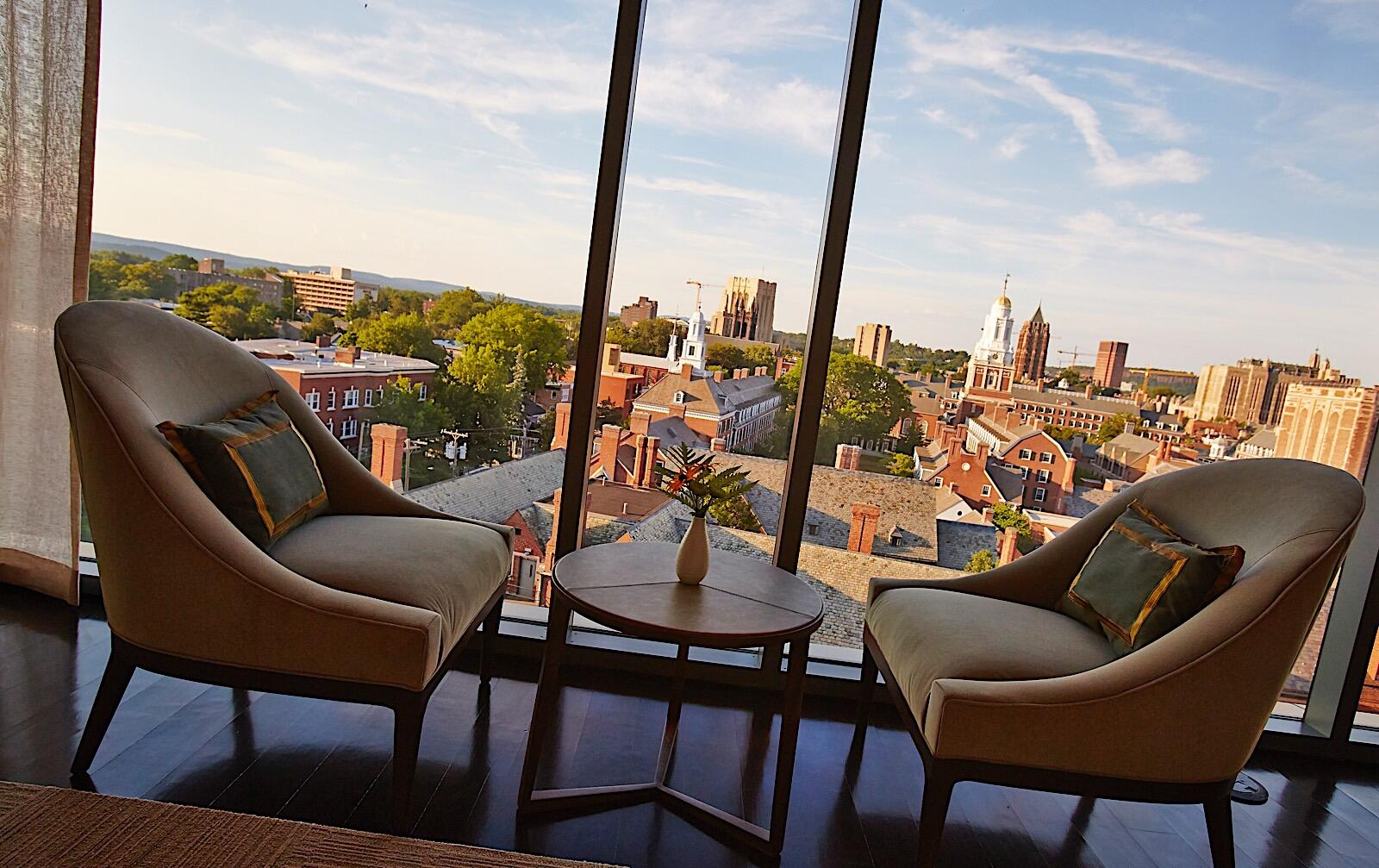 The Study at Yale Penthouse View