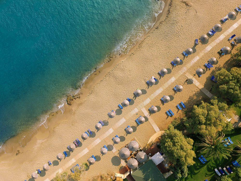 Beach near Cretan Malia Park
