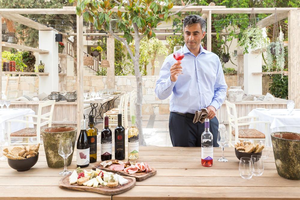 Wine tasting at Cretan Malia Park