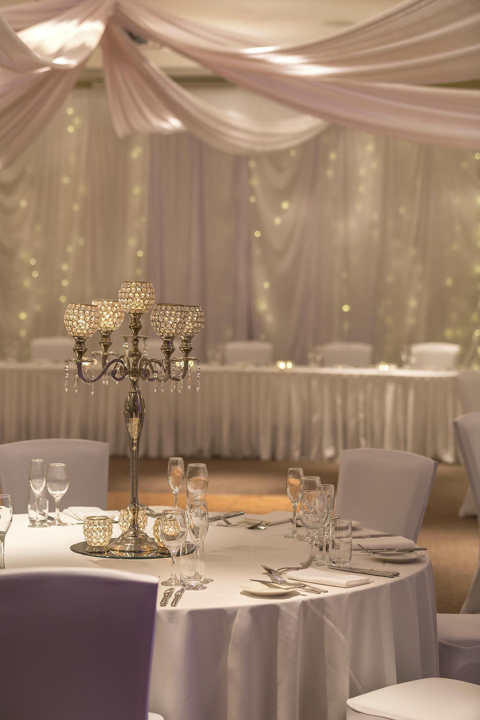 Wedding Venue Set Up - Getting Married in Yarra Valley Lodge