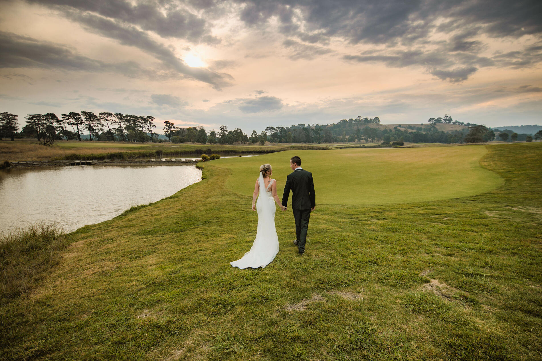 Wedding Photography at Yarra Valley Lodge Golf Course