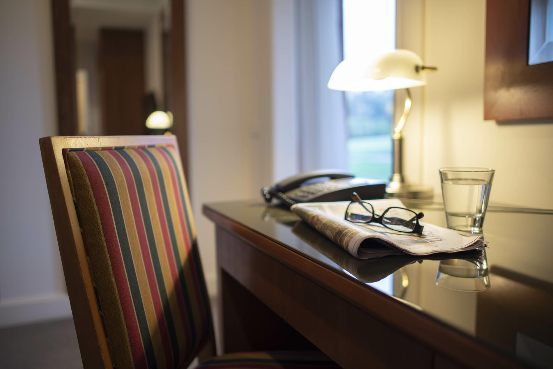 Desk in One Bedroom Suite - Yarra Valley Lodge