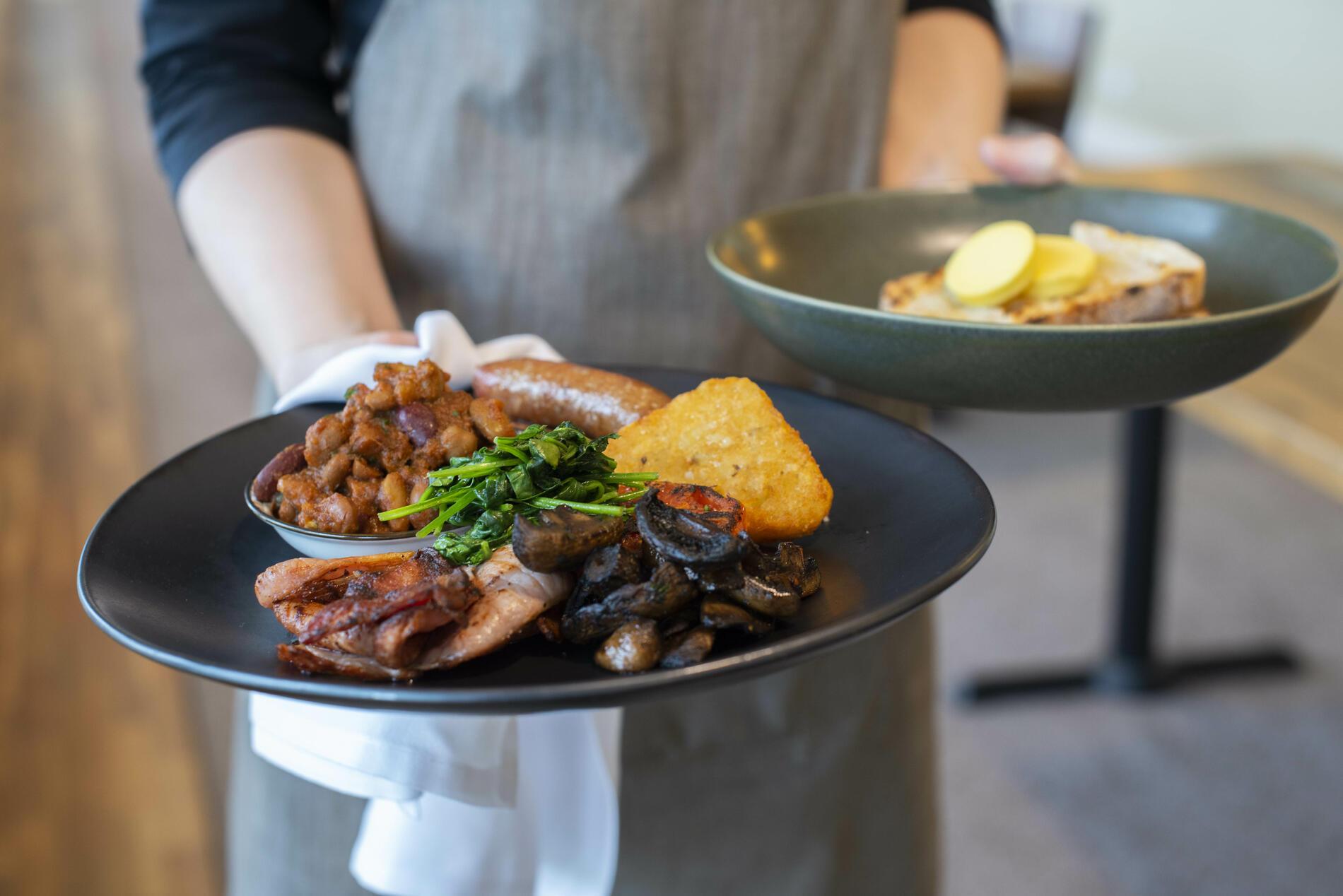 Grilled Breakfast at Bella Restaurant - Yarra Valley Lodge