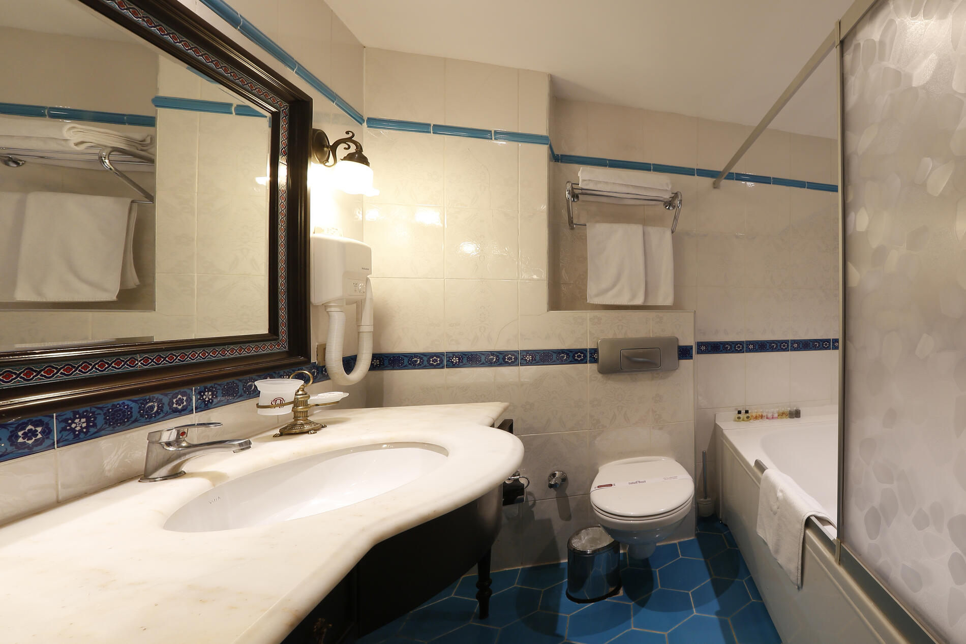 Bathroom at Sultanahmet Palace Hotel in Istanbul