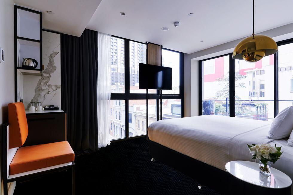 Balcony room at at Brady Hotels Jones Lane