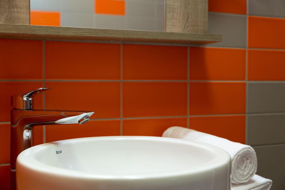 Salle de bain de The Originals City, Hôtel Clermont-Ferrand Soud