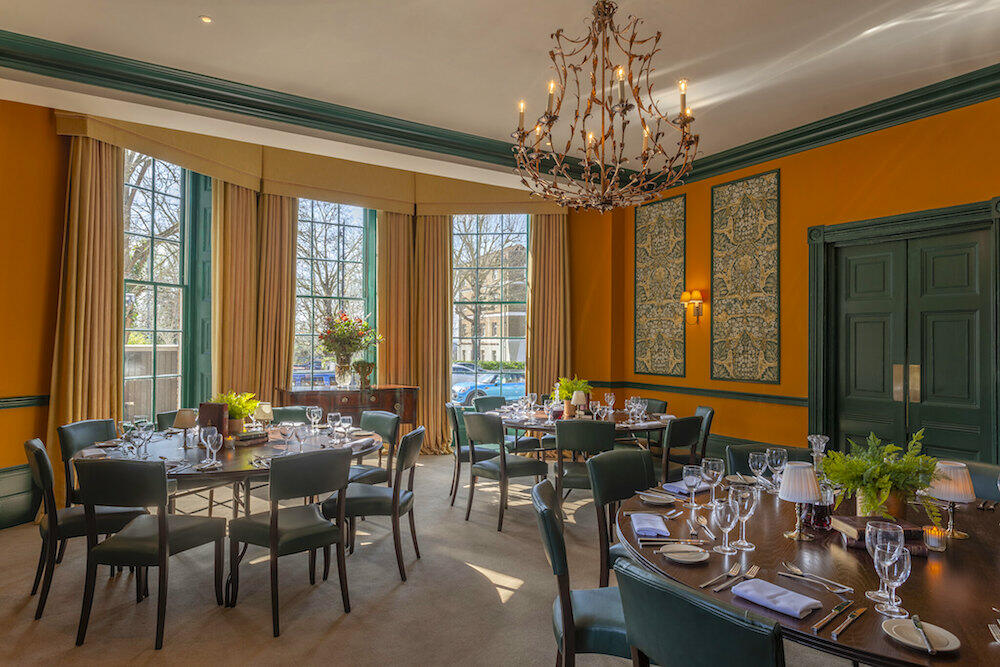 Dining at Richmond Hill Hotel