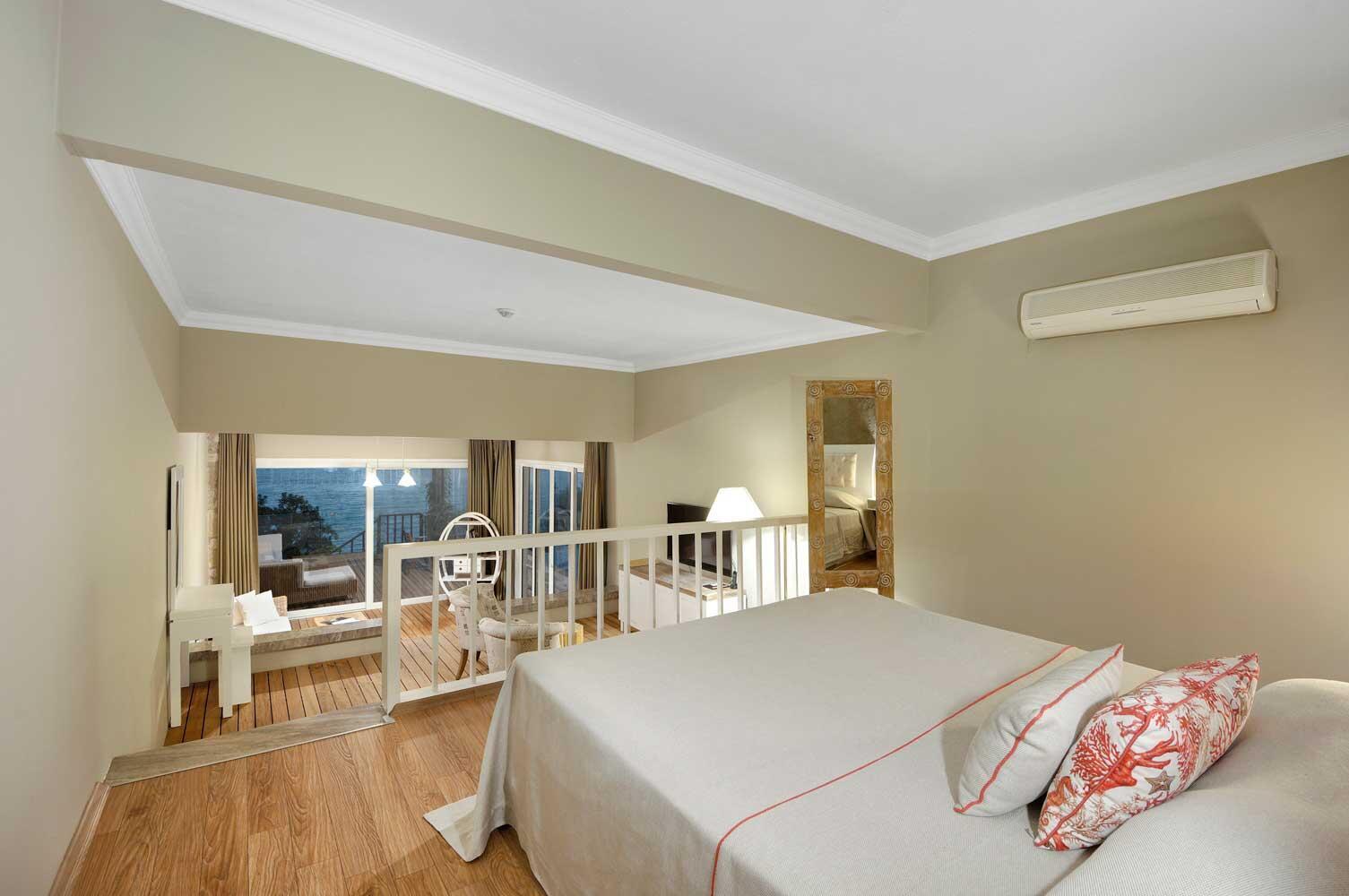 Pool Suite at Sarpedor Boutique Beach Hotel in Bodrum, Turkey