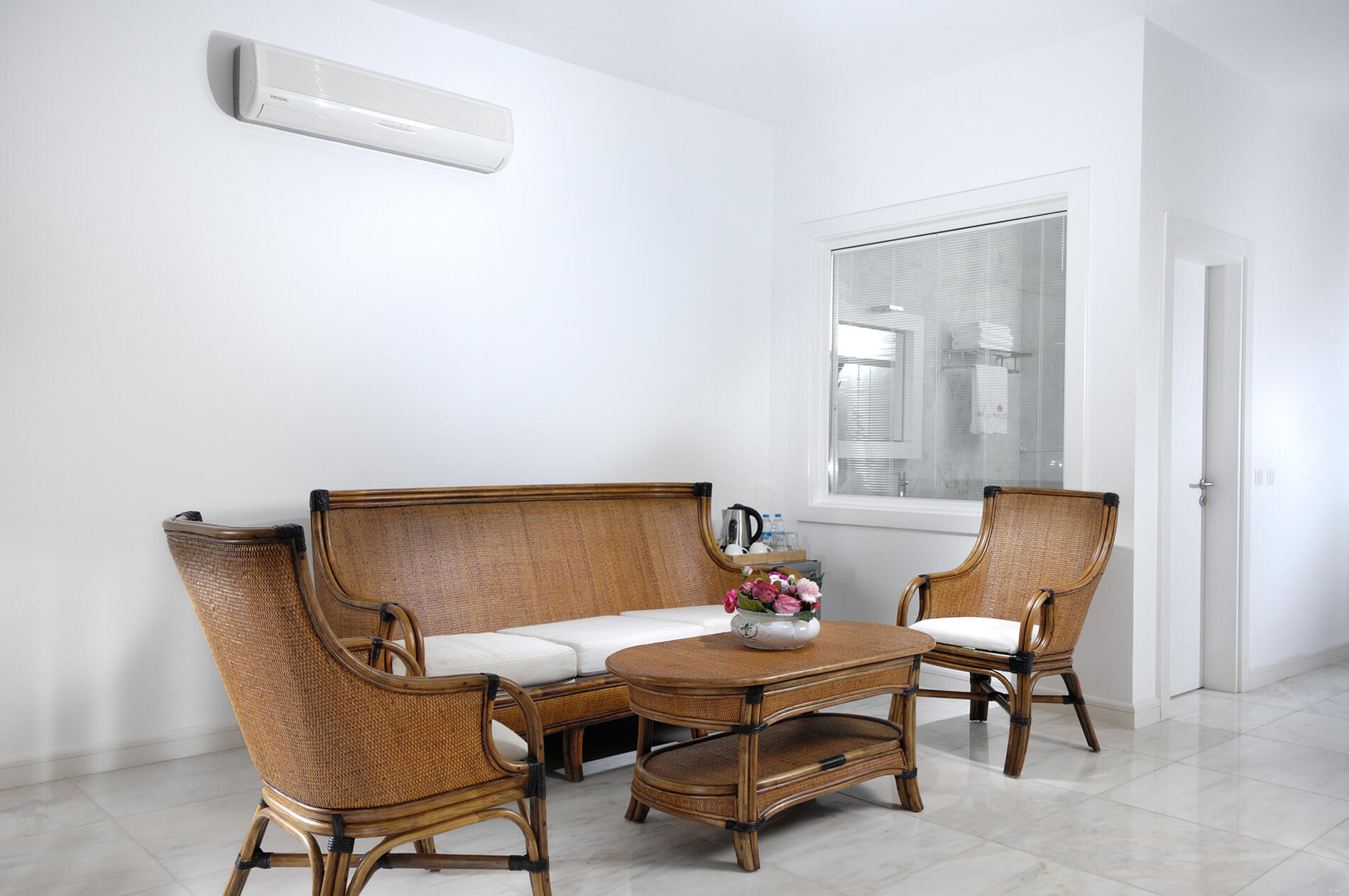 Family Suite at Sarpedor Boutique Beach Hotel in Bodrum, Turkey