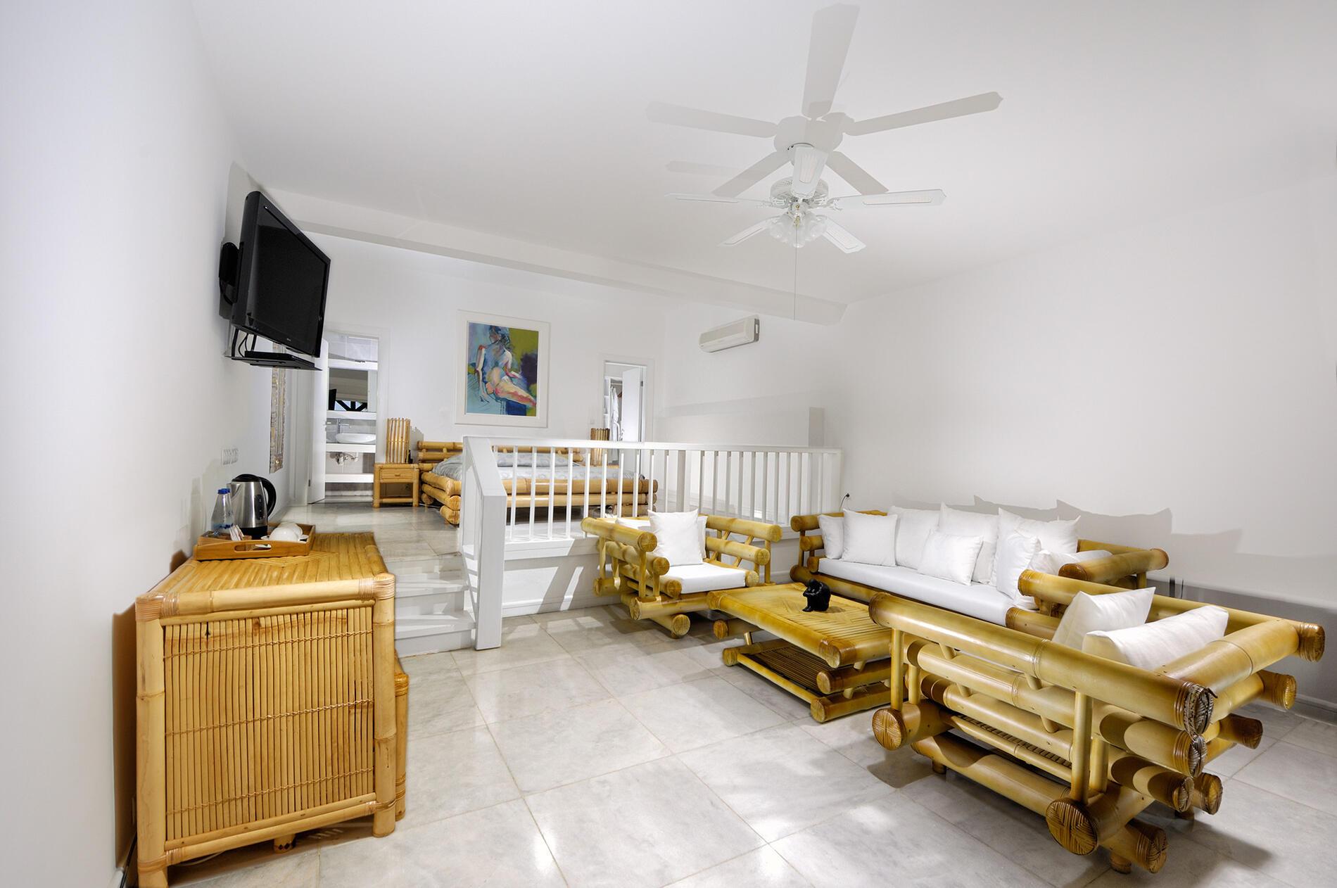 Superior Room at Sarpedor Boutique Beach Hotel in Bodrum, Turkey